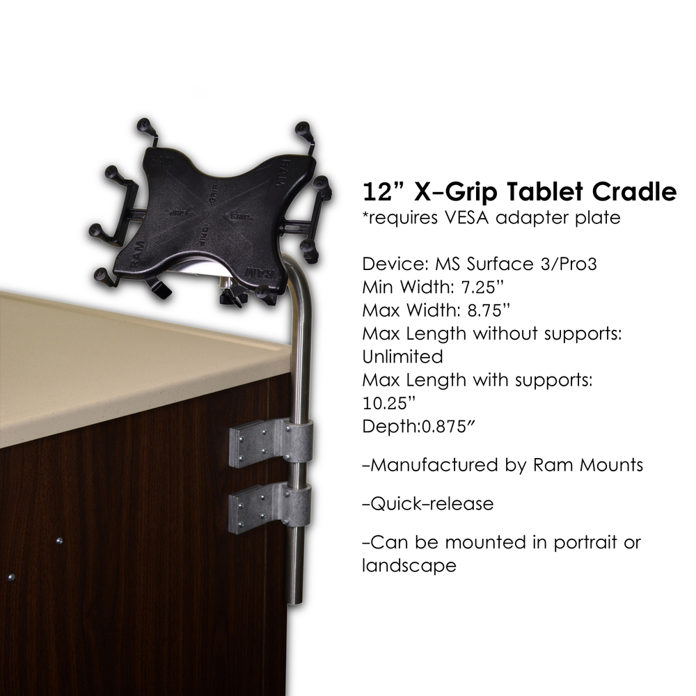 L0736-Computer Stand, Standard -for tablets with L0769C-XGrip