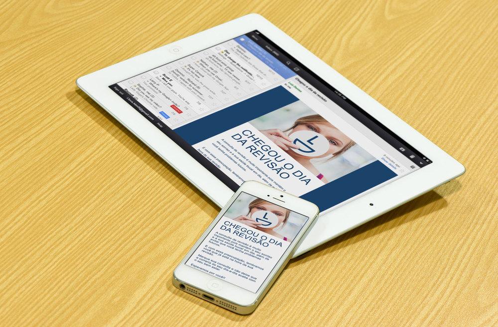 Template de email responsivo – Plataforma MailChimp