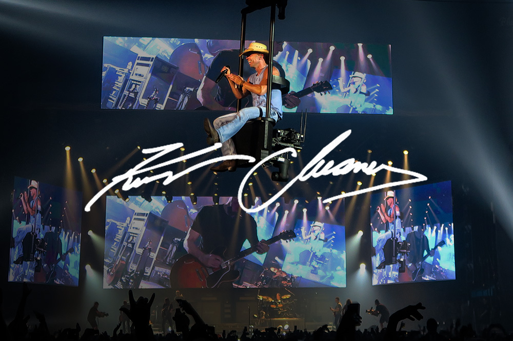 Kenny Chesney: Setting the scene for a nine-time Entertainer of the Year.