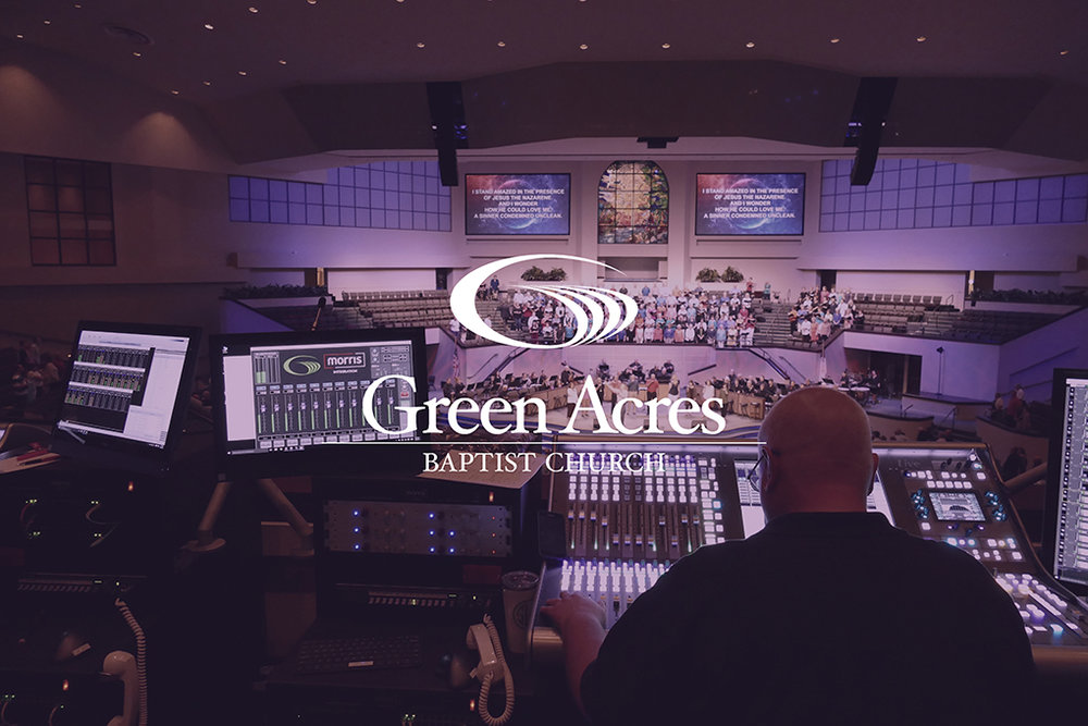 Green Acres Baptist Church: Creating a consistent experience for a huge congregation.