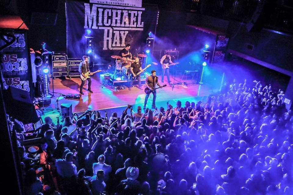Michael Ray 2016 Think a Little Less Tour