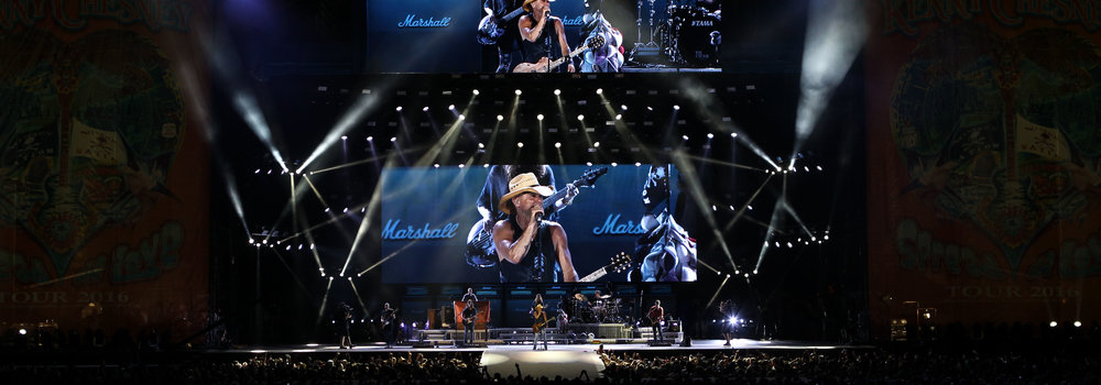 Kenny Chesney: - Setting the scene for a nine-time Entertainer of the Year.