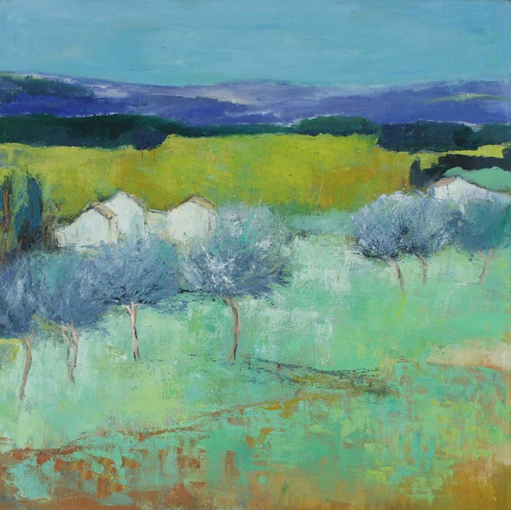 French Landscape with Olive Trees