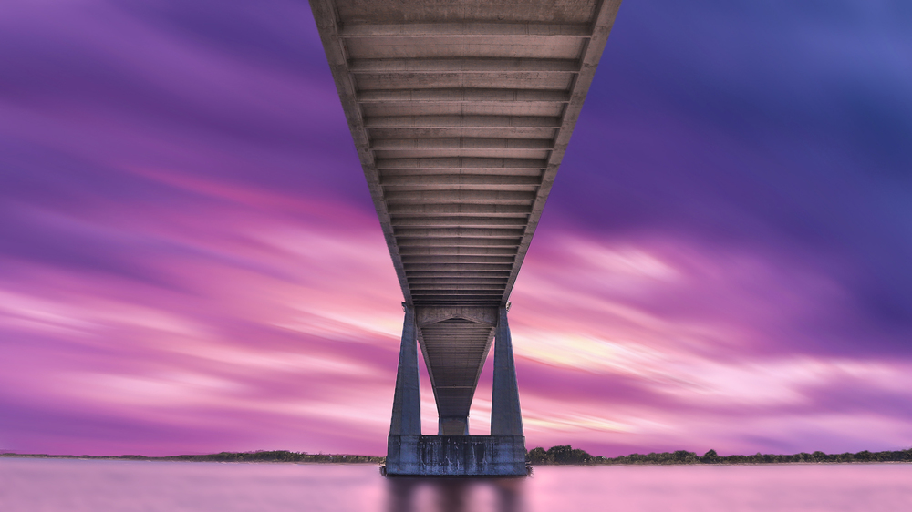 The Dames Point Bridge - Jacksonville, FL. Photo by Adam Szarmack.