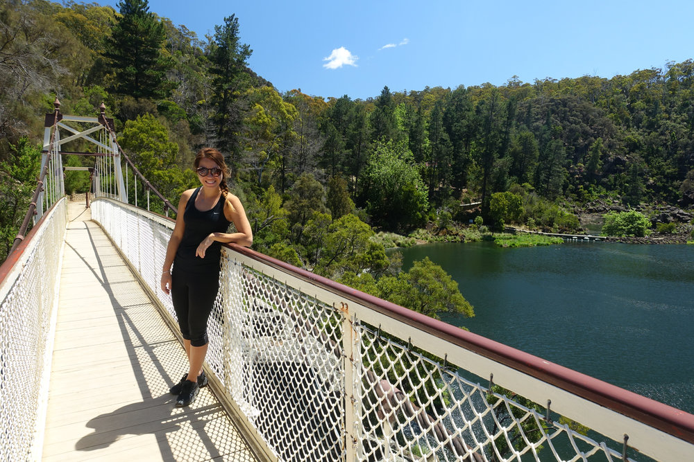 1.) Launceston - Launceston has a good selection of outdoors stores, where you can pick up any last minute camping essentials. Don't forget to check out the Cataract Gorge. You can even enjoy a dip, if the weather permits.