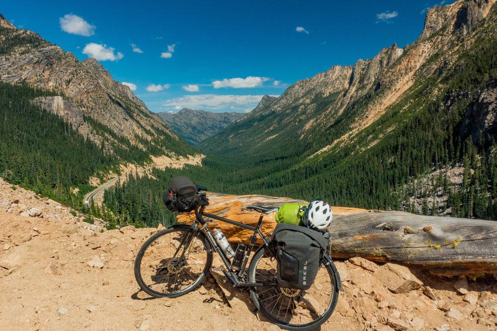 bike touring -