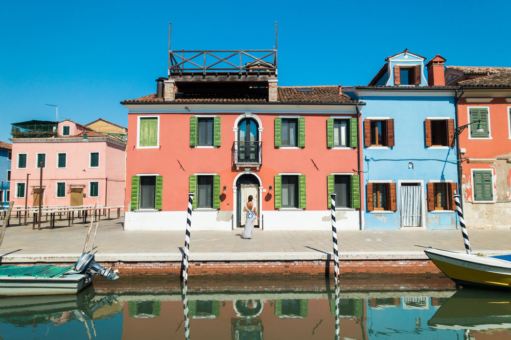 1.) Punta Sabbioni - The vanlife gateway to Venice. Punta Sabbioni is the best spot to park your van safely (and relatively cheaply) while you explore Venice. There are paid campgrounds close to the ferry terminal and you can buy a multi-day ferry pass to have access to all of your favourite islands. Ferries run throughout the day but visit the colourful fisherman town of Burano early, to avoid the crowds.