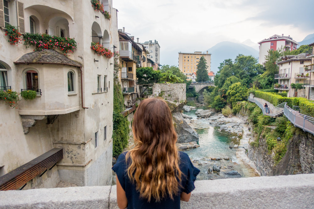 7.) Chiavenna - Travelling through the Italian Lakes District, we struggled to find good spots to park for the night. Chiavenna was our favourite van-friendly town in this region. Located north of Lake Como and close to the Alps, we found Chiavenna was less pretentious than some of the other towns bordering the lake. It has an interesting history, is a good place to base yourself for canyoning and our visit happened to coincide with the Crotti Festival.