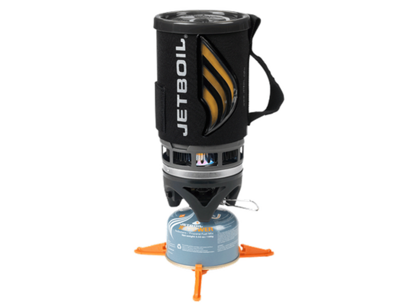 4.) Jetboil Flash Stove - I insisted on this one and we've had no regrets. As a self professed tea lover, having a jug of hot water within a minute with no fuss is a comfort I can't resist. Our new favourite attachment is an adaptor that turns your Jetboil into a french press, so you can wake up with a fresh cup of java each morning. Camping luxury!