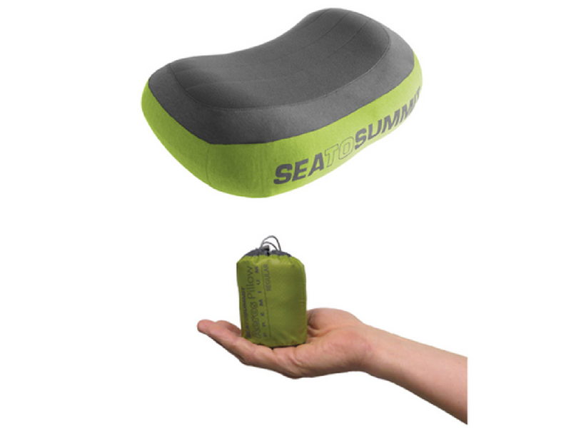 14.) Sea to Summit Inflatable Pillows - These minimalist pillows are not only great for camping with but also for train, plane or car journeys.