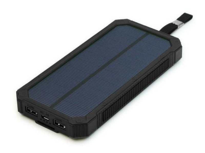 20.) Solar Travel Charger - While it's great to disconnect from technology, being able to charge your devices comes in handy. When you don't have access to power, having the ability to charge by solar is great.