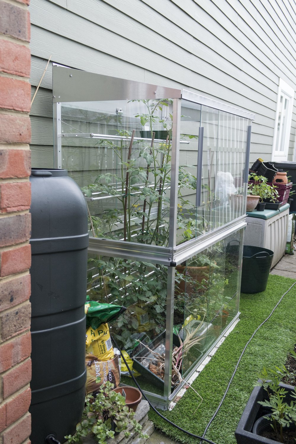 wall frame greenhouse - Access Gardens Products
