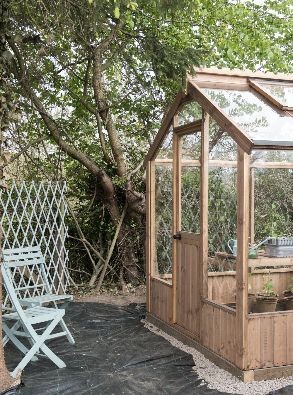 wooden greenhouse - AB Timber Products