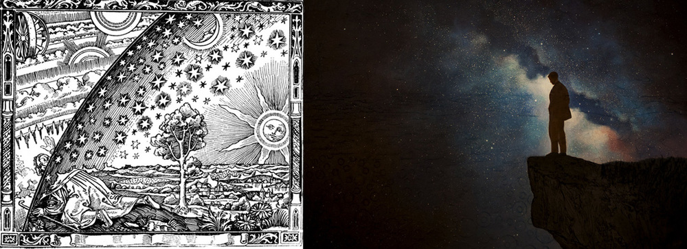 """The Flammarion Engraving""   and ""Underlying Patterns"" by Jim & Lynn Lemyre"