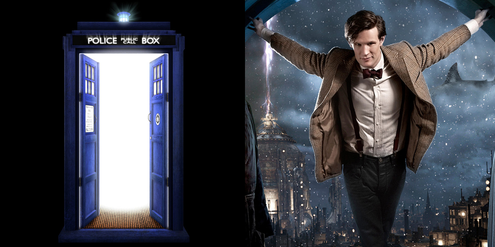 The Tardis and Dr. Who