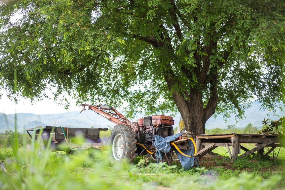 Herb Hero tractor
