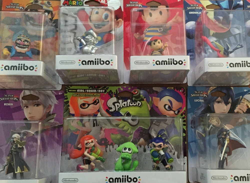 So many Amiibo, so little time...