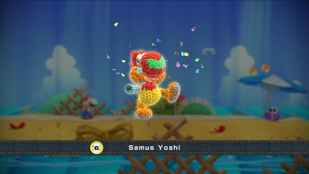 Scanning Amiibos allows for Yoshi to wear that character's costume.