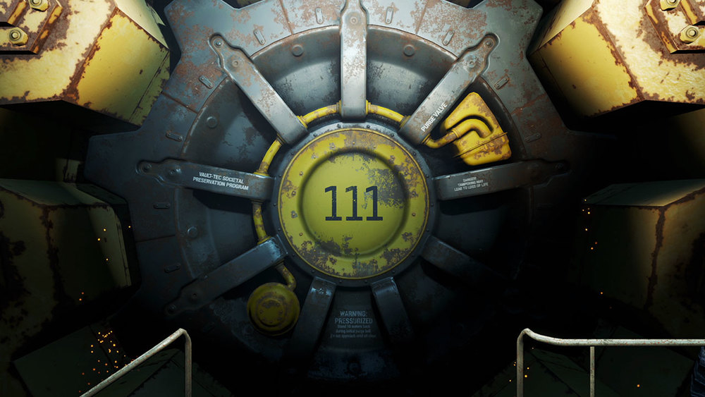 Vault 111, where the magic happens.
