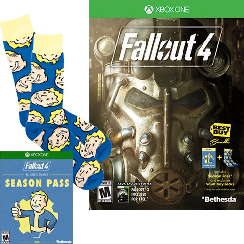 Free pair of Fallout socks when you preorder the game and the season pass.