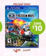 Freedom Wars Vita