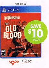 Old Blood under $10