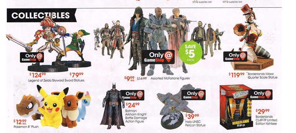 Exclusive figures and Statues