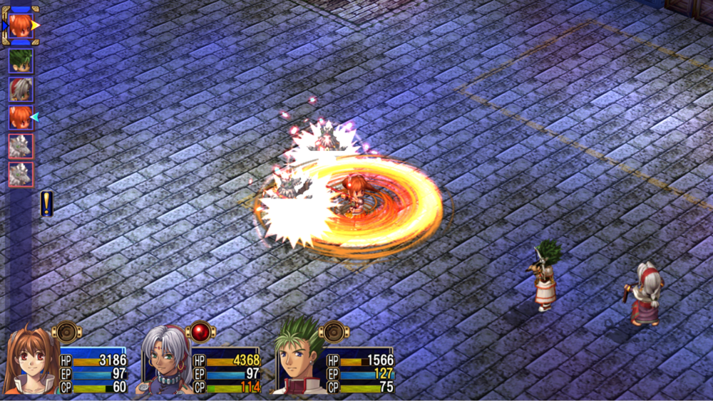 Legend of Heroes: Trails in the Sky SC translates beautifully onto the PlayStation TV.