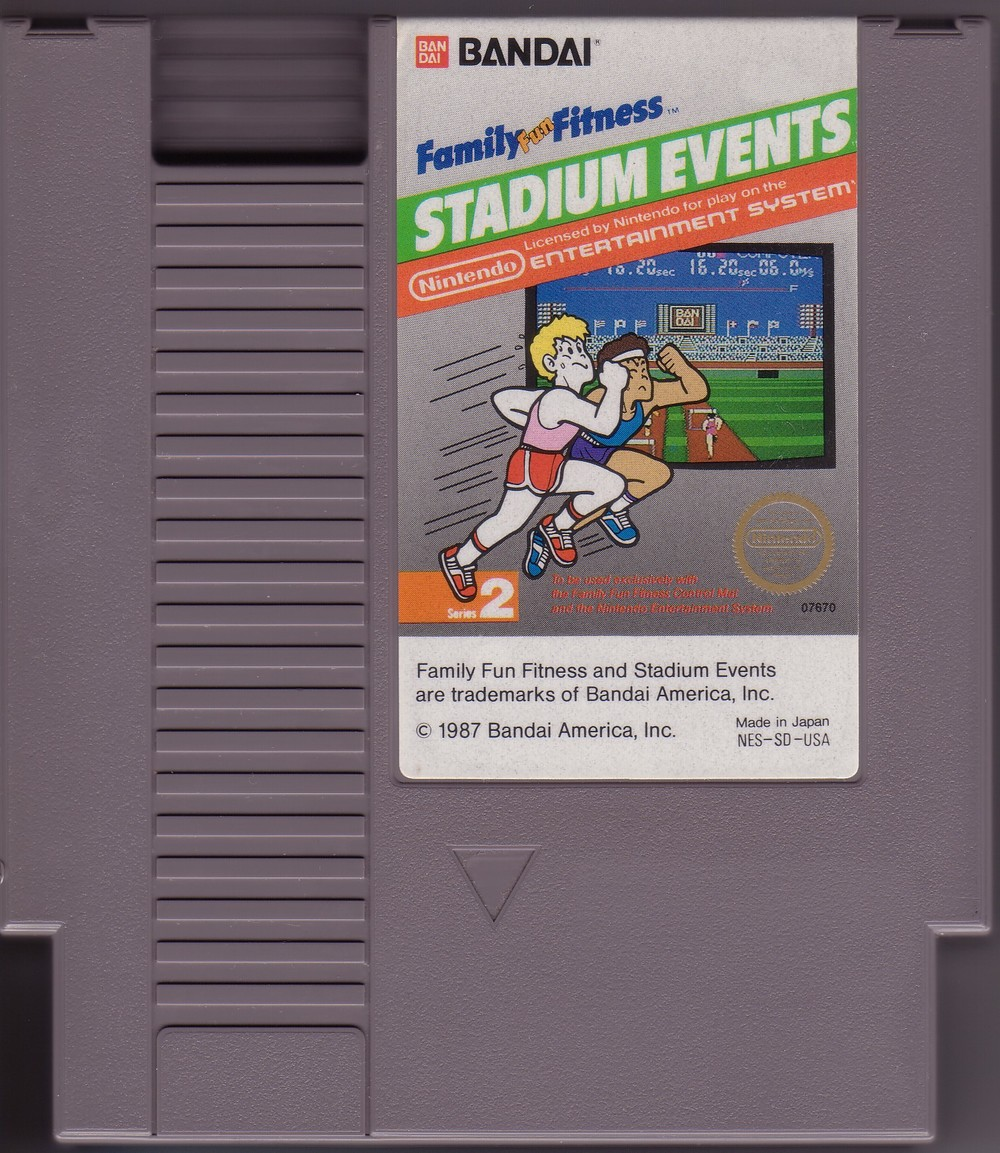 The ultra rare Stadium Events Cartridge - Image Courtesy of NintendoAge.com