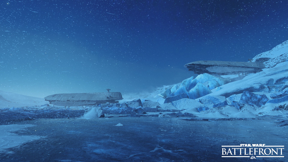 I hear Hoth is beautiful at night.