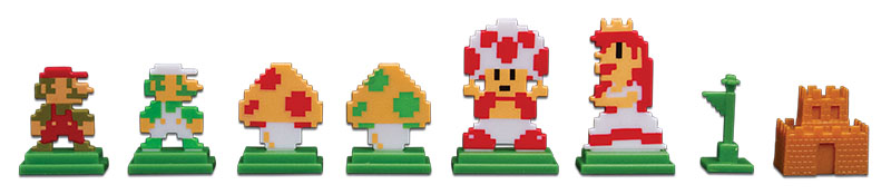 The Retro tokens in Super Mario Bros. Monopoly look amazing.
