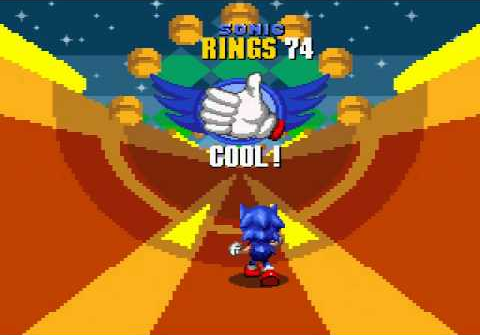 That stupid Sonic 2 half-pipe that only jerks like.