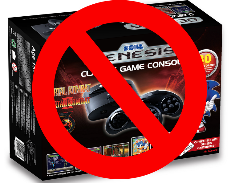 stop being excited for the mini sega genesis and portable systems