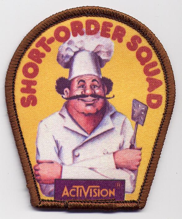 Prove that you scored 45,000 points or more in Pressure Cooker and you could mail away for this Short-Order Squad patch.