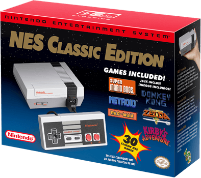 Nintendo NES Classic Edition Box