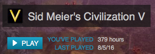What can I say? Civ is life.