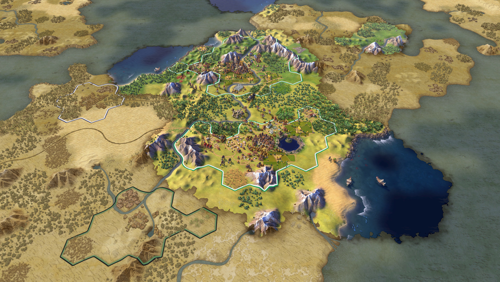 The lands can be expansive if you choose the larger map settings.