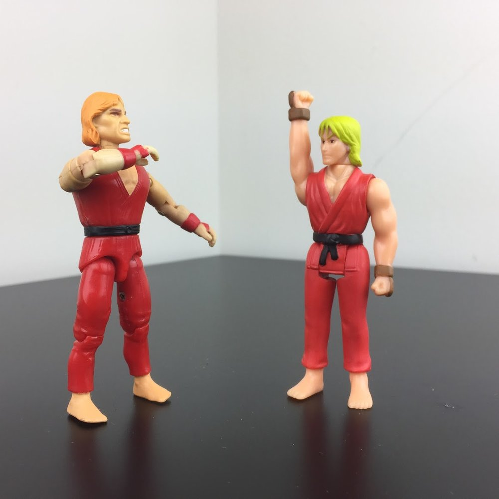 G.I. Joe Ken (early 90s) vs. Super7 Ken (2017)
