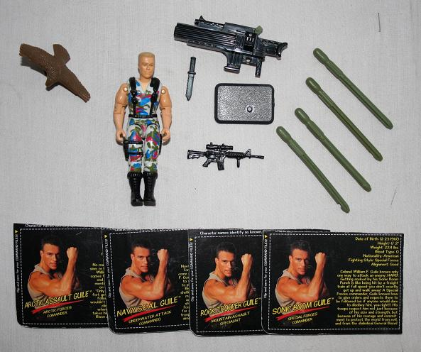 The Street Fighter: The Movie Guile figure.