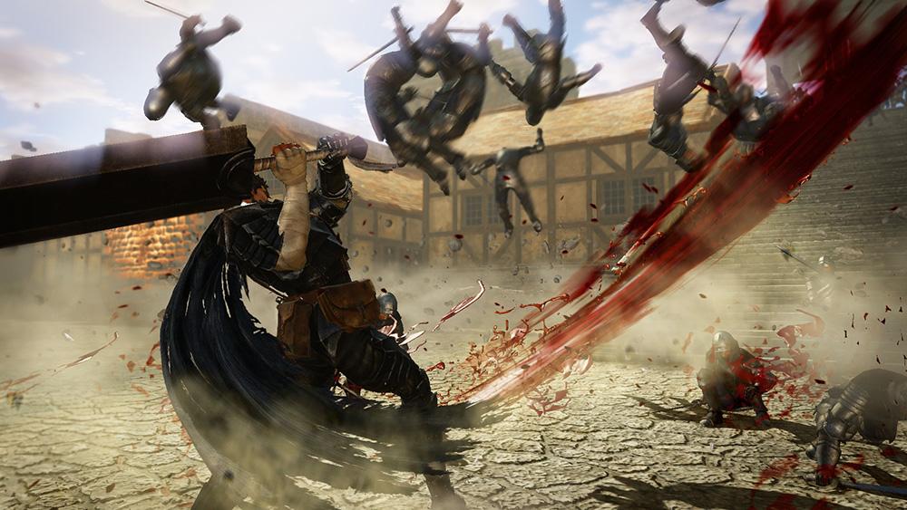 So much swordplay.