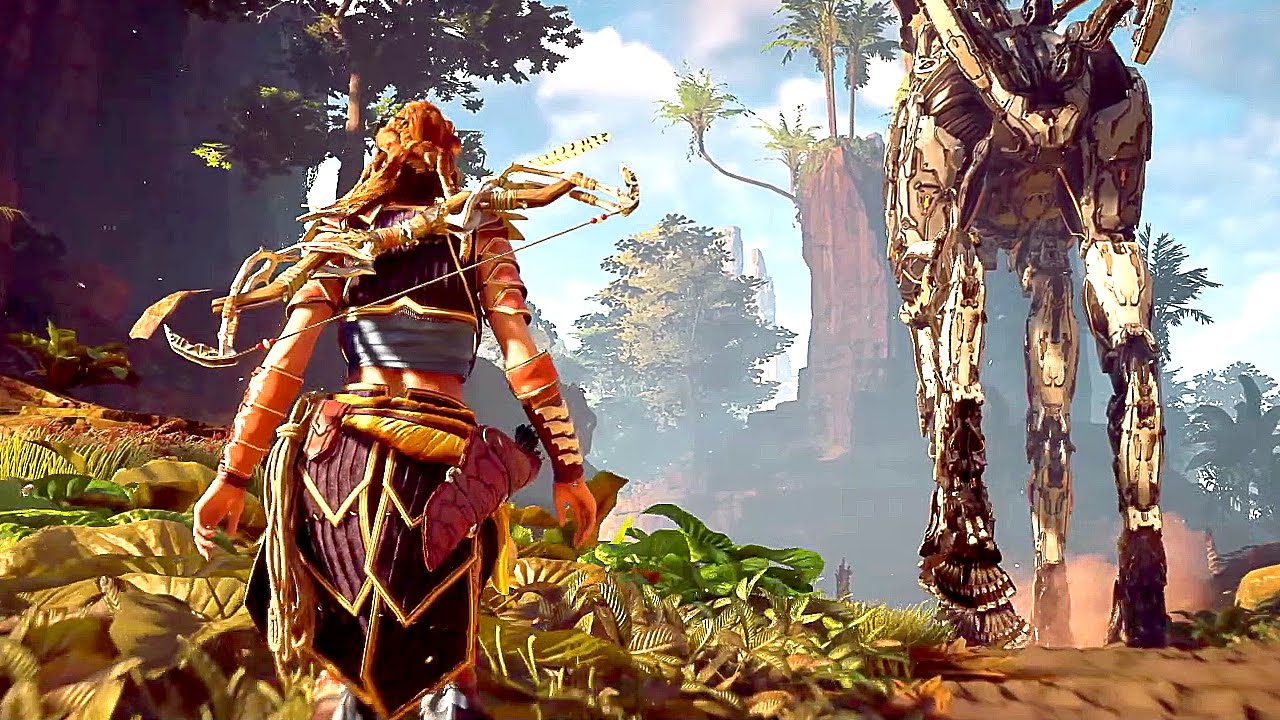 Falling In A Game Hole Horizon Zero Dawn Sony Playstation 4 Collector Edition Dads By Day Gamers Night