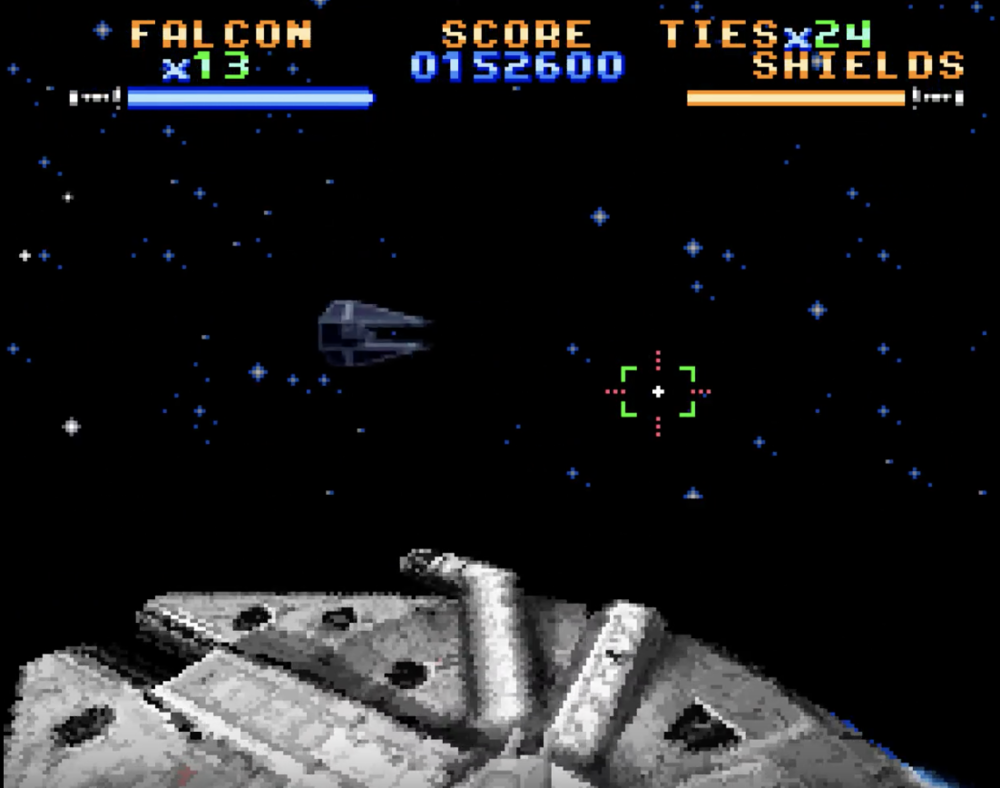 The space battles were some of the finest around at the time.