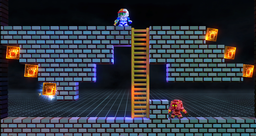 Lode Runner Legacy looks great for the 21st century.