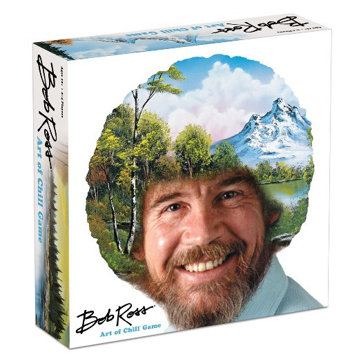 Buy your copy of Bob Ross Art of Chill today, ONLY at Target.