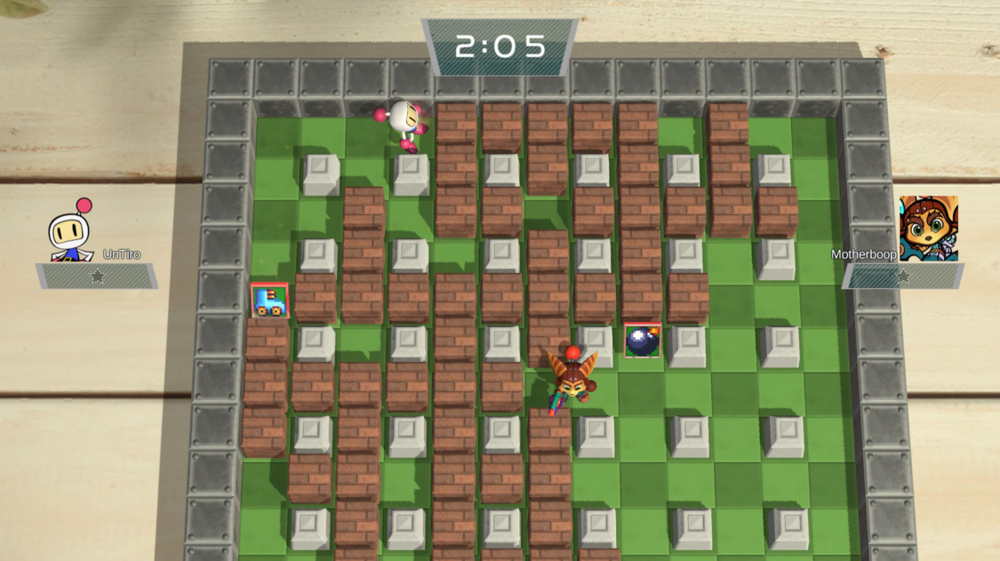 Bomberman returns with an explosive multiplayer mode!
