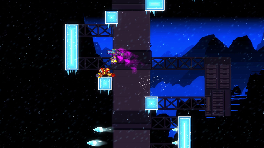 Typical ice levels will always give you platforming troubles.
