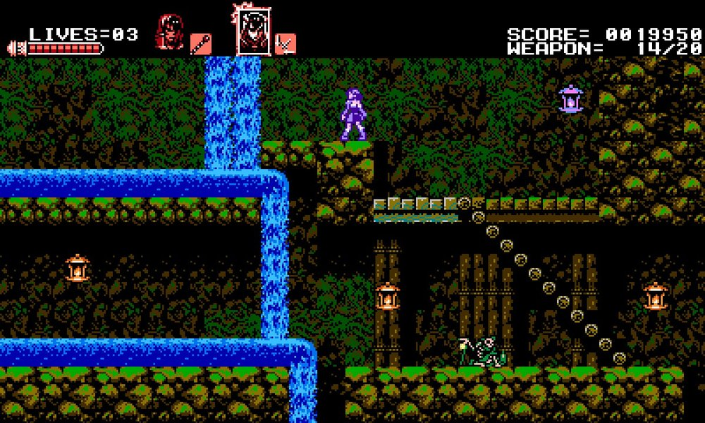 Graphics are similar to that of Castlevania III: Dracula's Curse