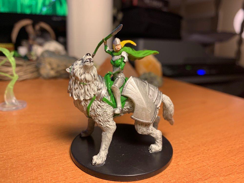 Ledev Guardian, Dire Wolf Mount