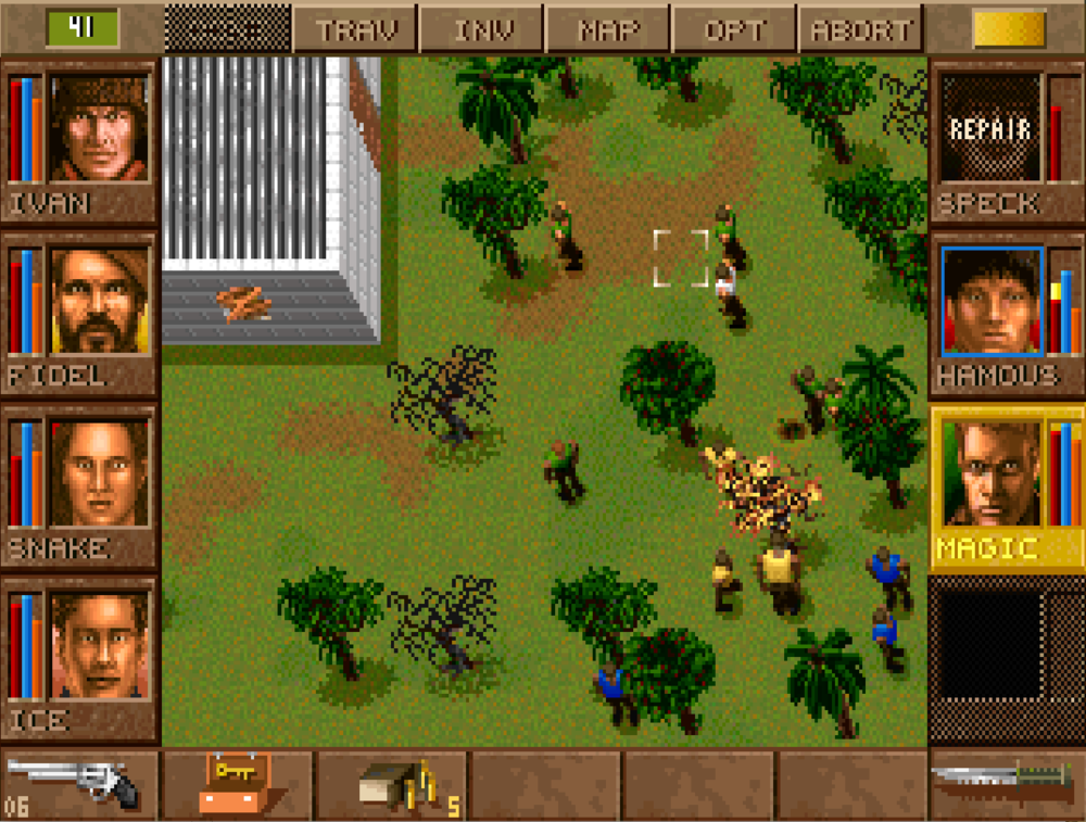 Building the right team of MERCs is essential to success in Jagged Alliance.