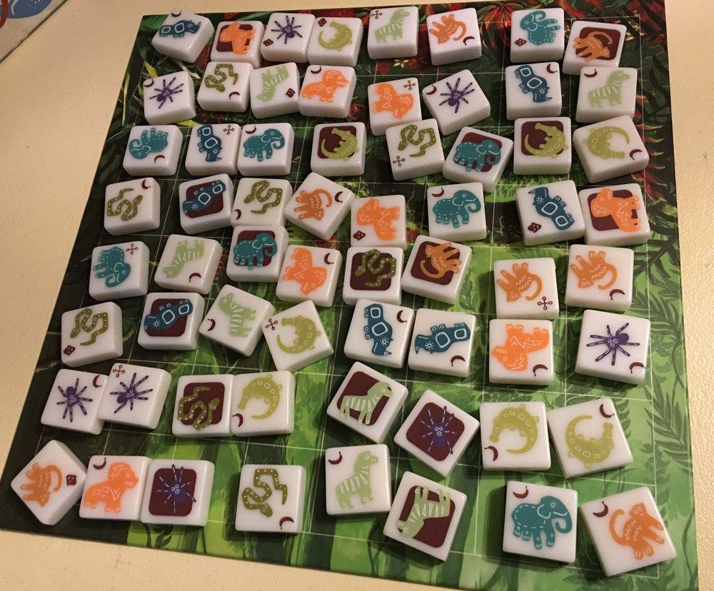 Great tiles, great art, great board...an OCD nightmare.